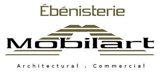 Ébénisterie Mobilart: Ébénisterie architecturale et commerciale Logo